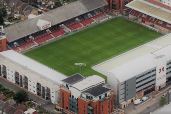 THE QUADRANT. LEYTON ORIENT FOOTBALL CLUB